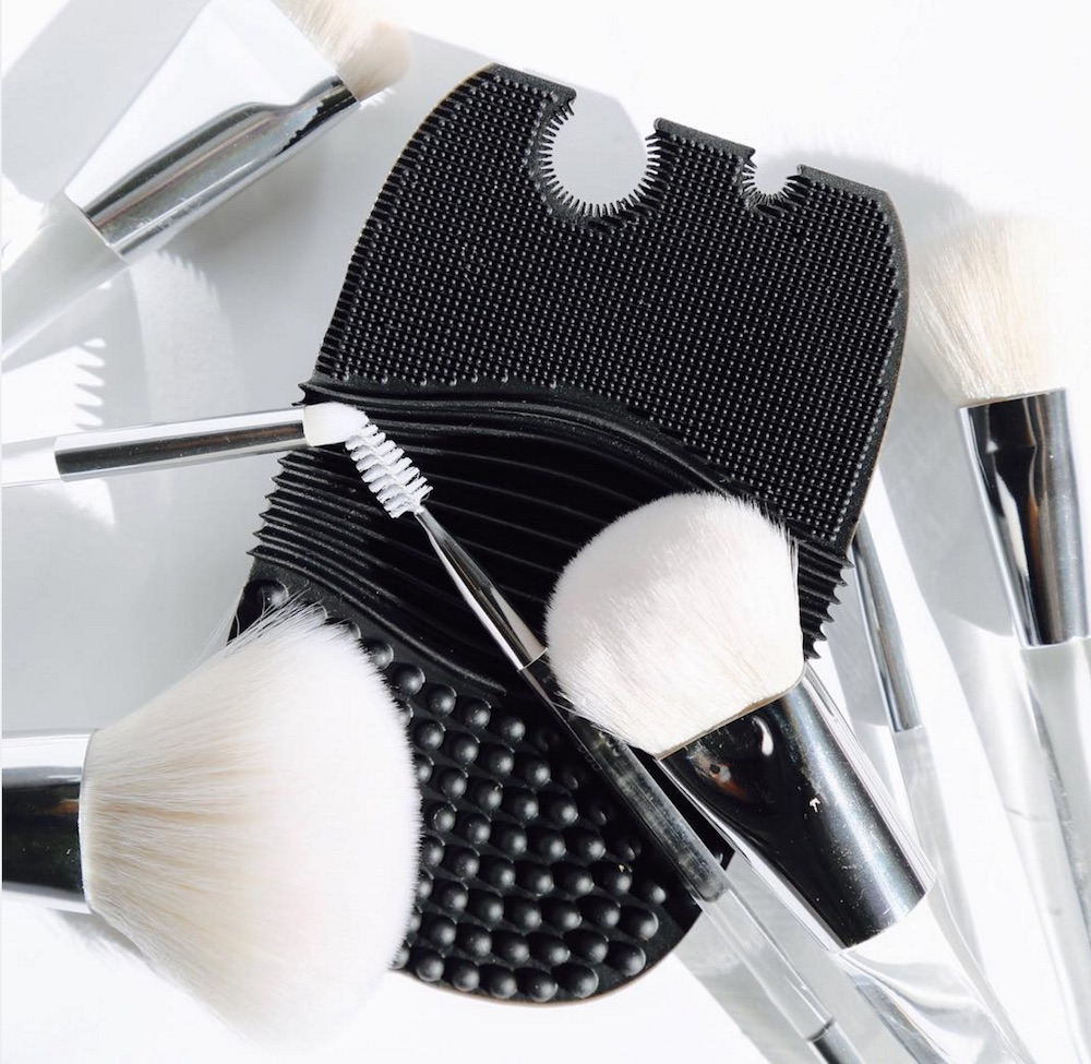 You can now shop E.l.f. Cosmetics' super affordable brush cleaning glove