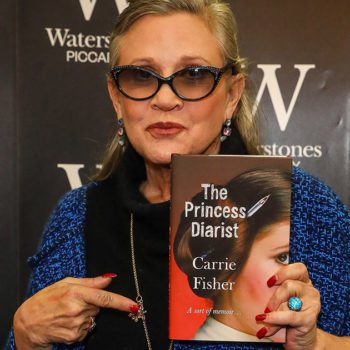 Carrie Fisher's books are getting a reprint after selling out almost everywhere