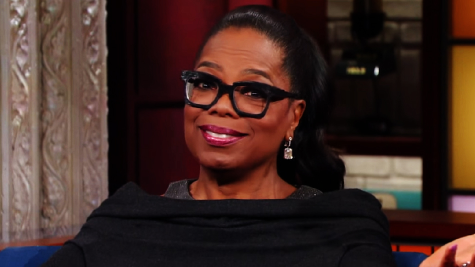Oprah showed Stephen Colbert how to make bad news sound great, and we love her for it