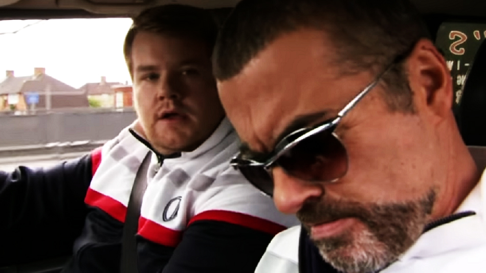James Corden honored George Michael with some touching words, and a very funny sketch