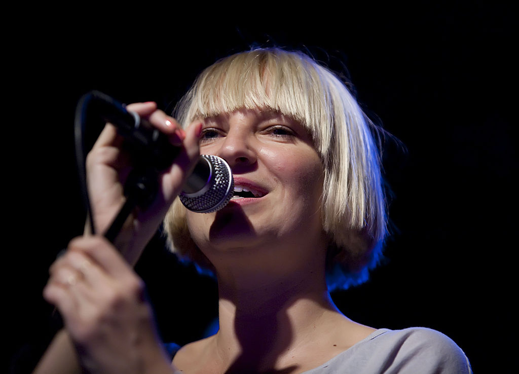 "Sia released a ""Never Give Up"" lyric video and it's *so* emotional"