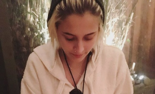 Paris Jackson posted a photo of her mom's latest chemo session, and her message is just so sweet