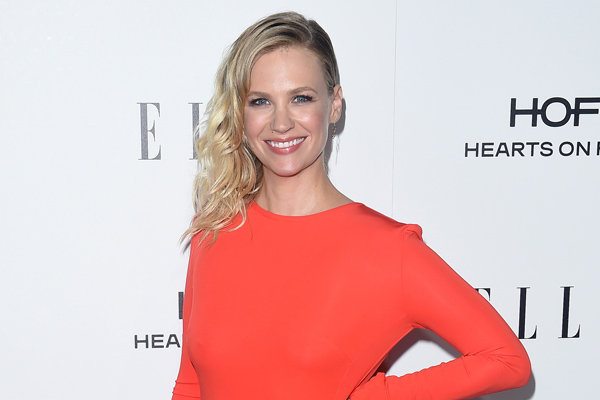 """January Jones says she's raising her son around a lot of """"strong women"""" and we are in awe of her badass parenting outlook"""