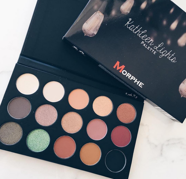 Set your alarms: The Kathleen Lights and Morphe Brushes collab eyeshadow palette is coming back