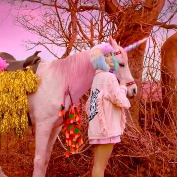 This Korean-Chinese pop band's music video is inspired by Lisa Frank and it's heavenly