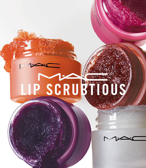 We can't wait to get our hands (and lips) on MAC Cosmetics's new Lip Scrubtious collection