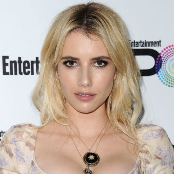 Emma Roberts is taking this exotic print trend straight into 2017