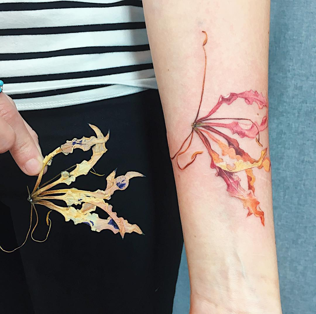 """Live leaf"" tattoos are works of body art that will leaf you breathless"