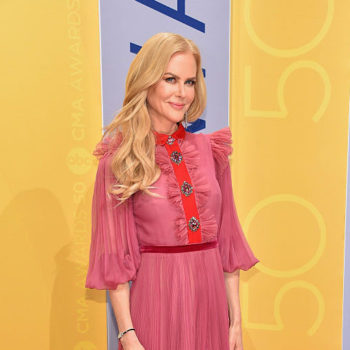 Nicole Kidman just donned a dress that literally stole our hearts and ran away with them