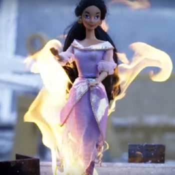 These people burned their favorite childhood toys and our nostalgic feelings are totally destroyed