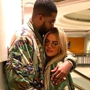 Khloe Kardashian says she's the happiest she's been in a while because she's in ~love~