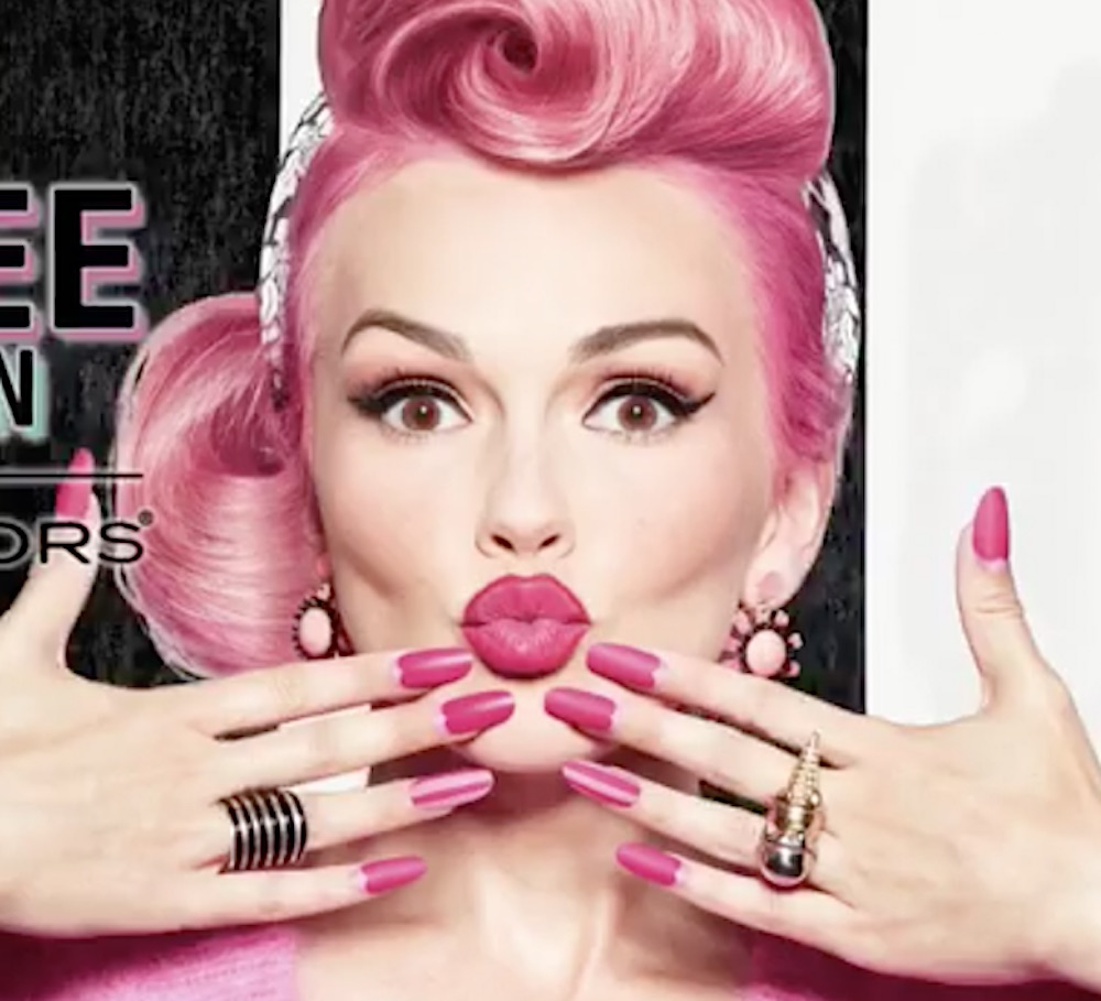 Kandee Johnson's Sinful Colors nail polish collection looks like a cotton candy dream