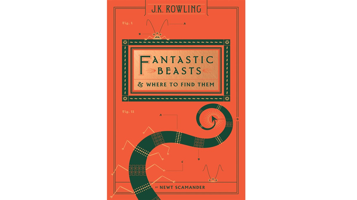 "The Scholastics version of ""Fantastic Beasts"""