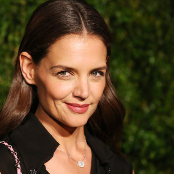 Katie Holmes shared an adorable #TBT that proves Suri Cruise is her doppelgänger