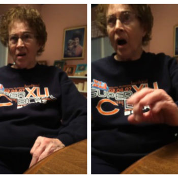 This grandma had the sweetest reaction ever to her grandson's New Year's Eve plans