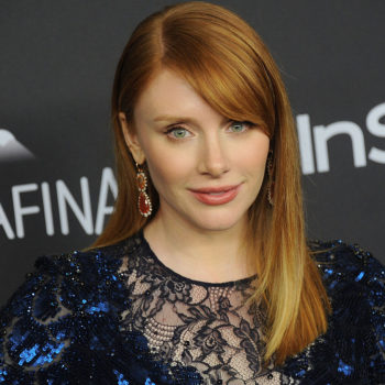 Bryce Dallas Howard shops for red carpet dresses the same way we shop for clothes