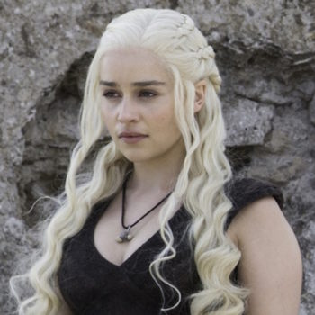 """Emilia Clarke is back on the """"Game of Thrones"""" set and shared her first behind-the-scenes vid"""