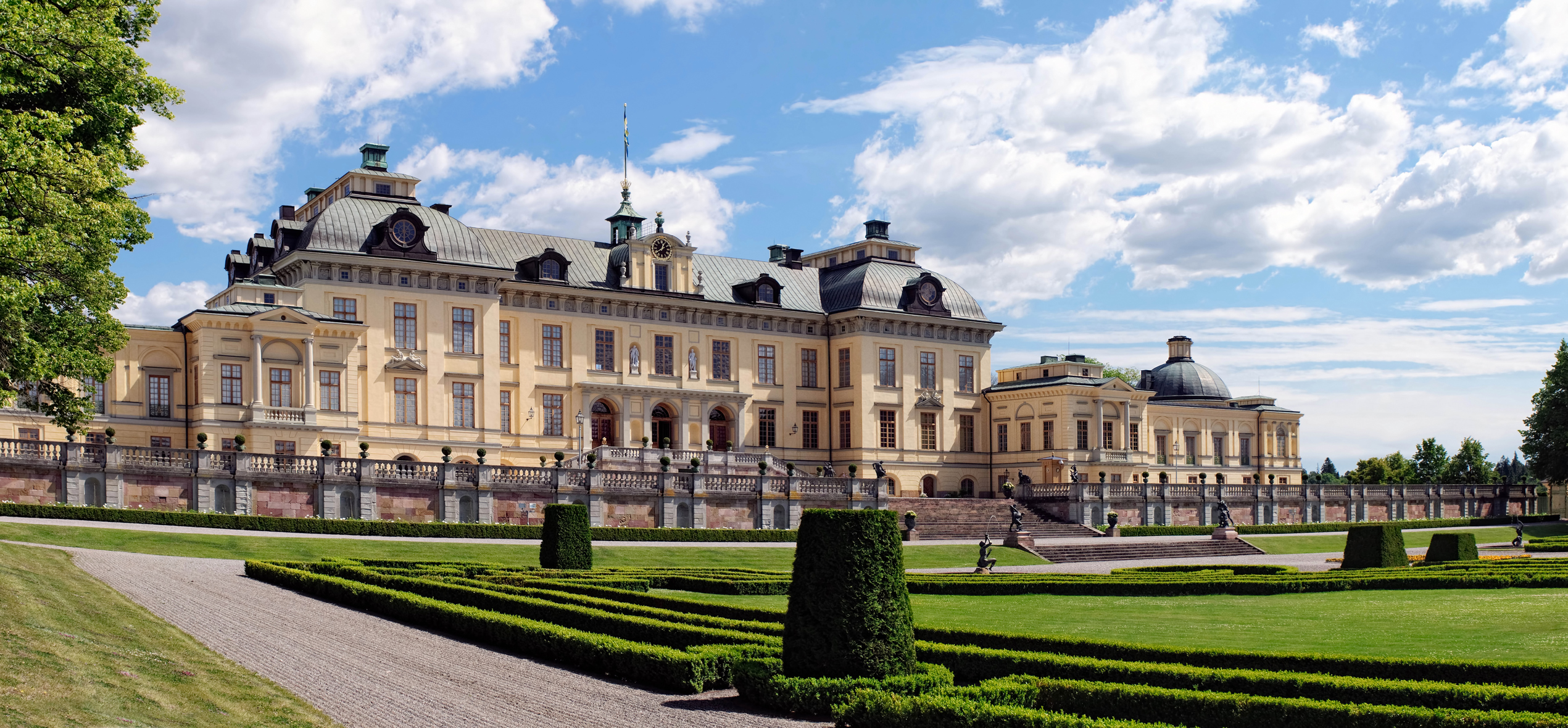 Royal Palace in Drottningholm