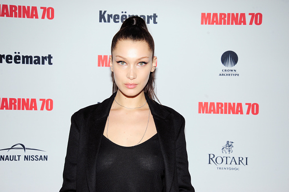 Bella Hadid got super blunt bangs for a whole new 2017 look