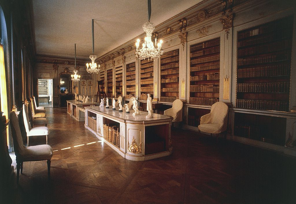 The library of Drottningholm Castle