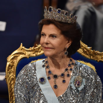 Sweden's Queen Silvia says their palace is haunted, and we feel a little spooked