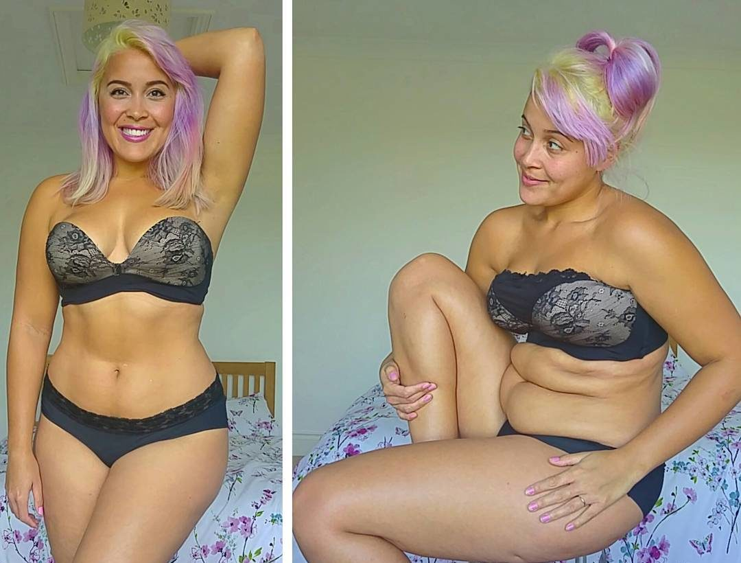 Stop everything: This body-positive model has something super empowering to say about muffin tops