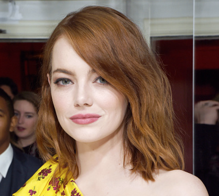 Emma Stone just wore almost every 2017 fashion trend on the red carpet