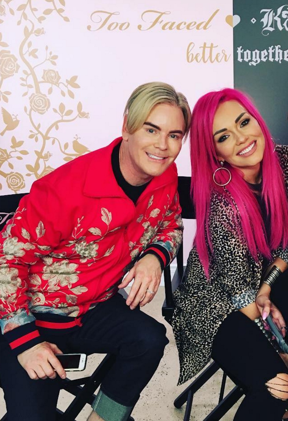 Jerrod Blandino shared a sneak peek with Kandee Johnson, and we are SO curious to know what they are up to