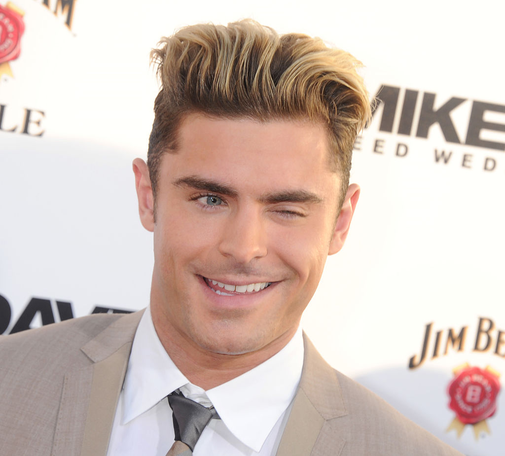 "Zac Efron just posted the cutest throwback photo of himself and his granddad, and we are ""aww""ing"