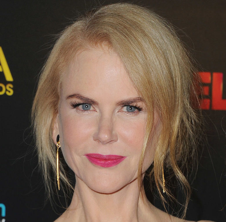 Nicole Kidman's sunset and midnight gown is a totally original look, and we're falling hard for it