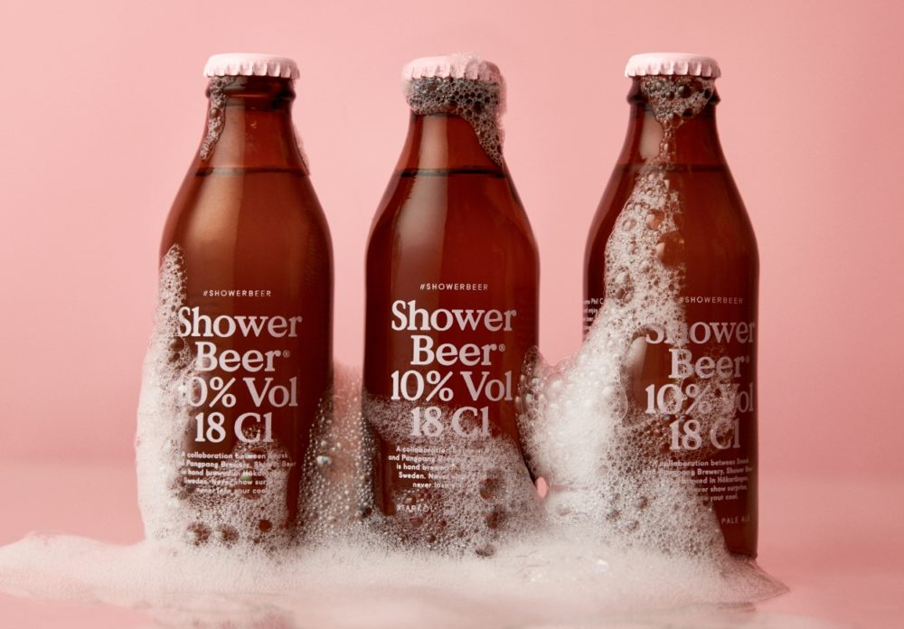 There's now an official shower beer brand we need to try one ASAP