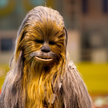A woman wore a Chewbacca mask to give birth, so there's a new Chewbacca mom in town