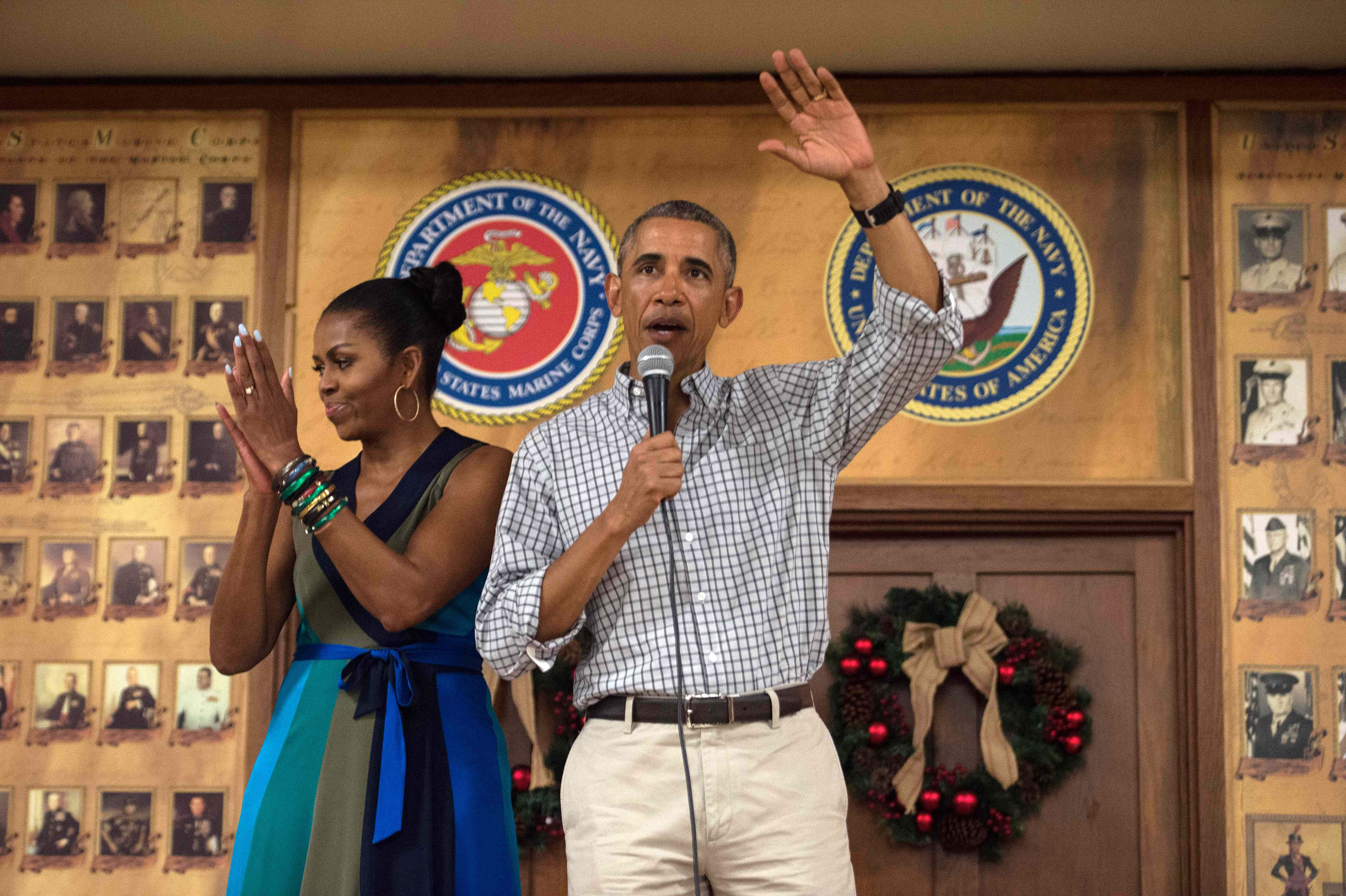 The Obamas had a final farewell bash at the White House, and basically EVERY celeb was there