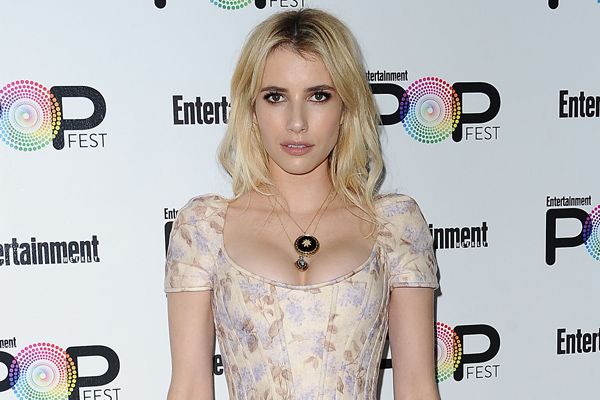 Would you try out Emma Roberts' super casual heels-and-socks look?
