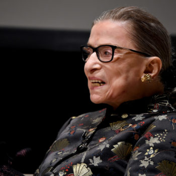 The little girl who dressed as Ruth Bader Ginsburg got an inspiring handwritten note back from the justice herself