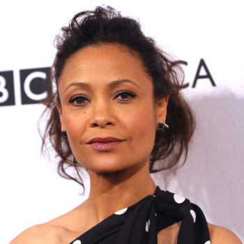 Thandie Newton's crazy polka-dot dress is giving us serious style goals