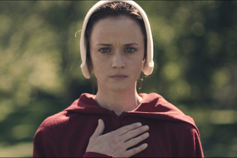 "Alexis Bledel compared her ""Handmaid's Tale"" character to a spy"