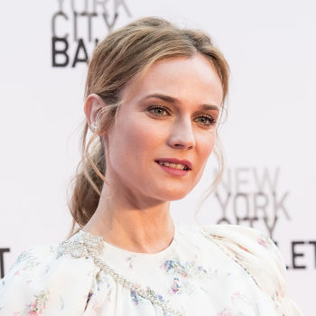 Diane Kruger's chic all black outfit wowed with intricate detailing and a legit CAPE