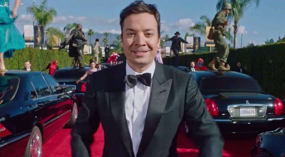 "Jimmy Fallon did the best ""La La Land"" spoof to open up 2017 Golden Globes"
