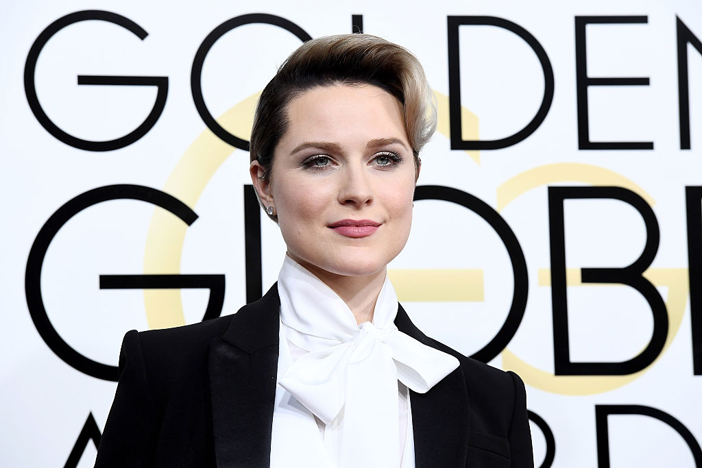 Evan Rachel Wood wore a tux to the Golden Globes because of David Bowie