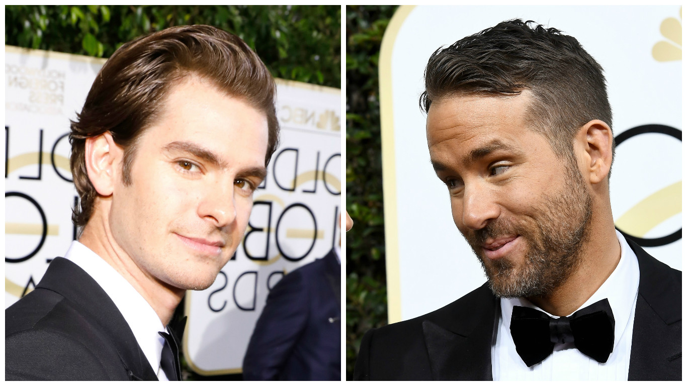 Stop everything: Ryan Reynolds and Andrew Garfield made out while Ryan Gosling accepted his Golden Globe