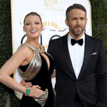 We're gushing: Blake Lively and Ryan Reynolds looked so in love on the Golden Globes red carpet