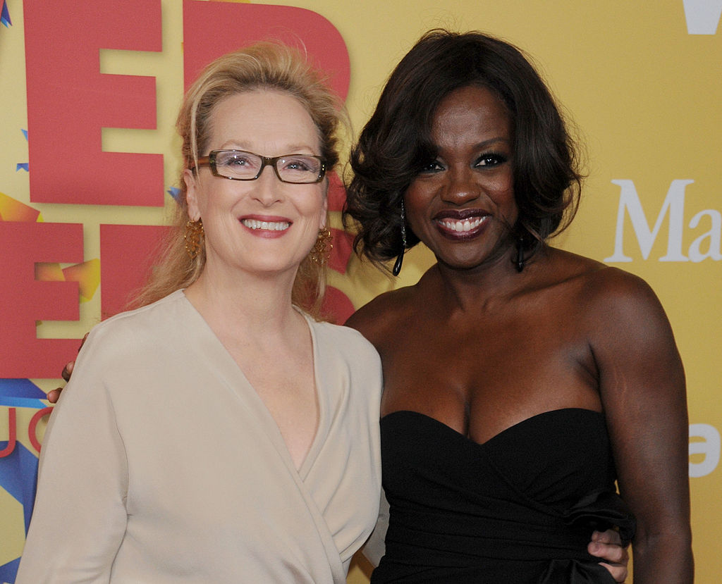 Viola Davis talking about Meryl Streep is the definition of women supporting women