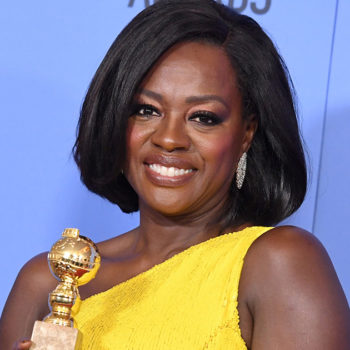 Viola Davis spoke about her husband backstage at the Golden Globes, and what she said will warm your heart
