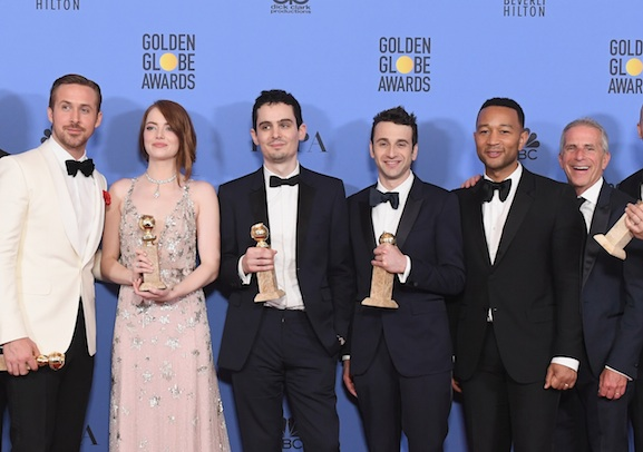 """La La Land"" dominated the Golden Globes, and we're definitely okay with that"