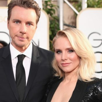 Kristen Bell wore butt pads to the Golden Globes, is most relatable human ever