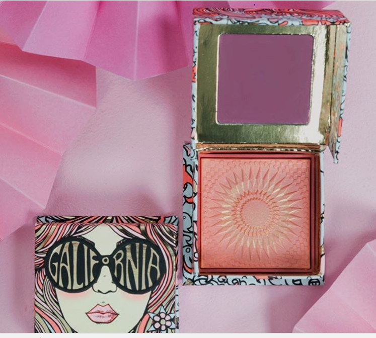 Benefit Cosmetics is coming out with a '70s-inspired pink blush that Farrah Fawcett would totally approve of