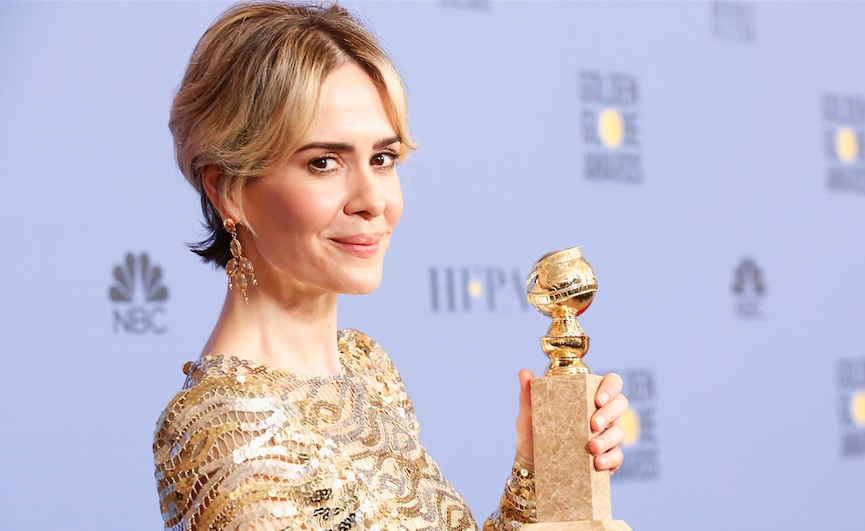 "Sarah Paulson won the Golden Globe for her role in ""American Crime Story,"" and we're cheering"