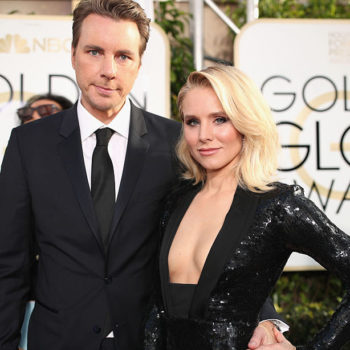 Kristen Bell and Dax Shepard did something *a bit different* for their Golden Globes after-party