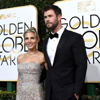 Chris Hemsworth's kids cheering him on at the Golden Globes will absolutely melt your heart
